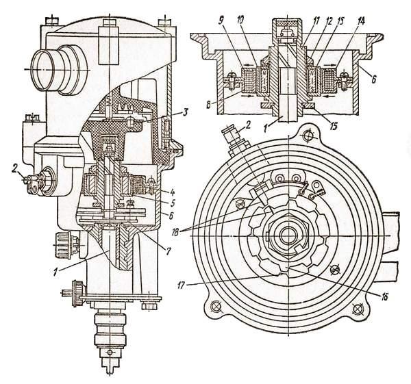 Датчик-распределитель P-351