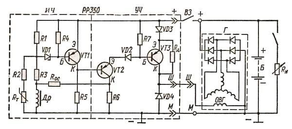 Регулятор напряжения РP-350