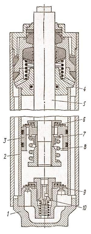Гидравлический телескопический амортизатор