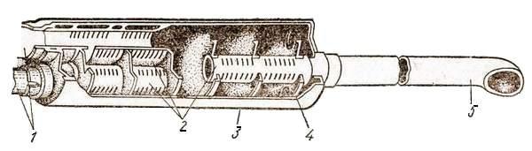 Глушитель шума выпуска отработавших газов