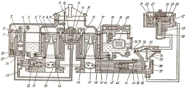 Карбюратор К-126Б