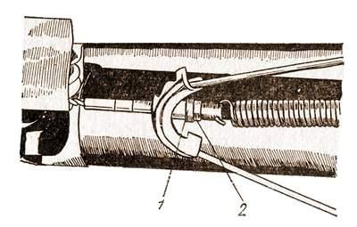 Регулировка натяжения троса стояночного тормоза автомобиля «Жигули»