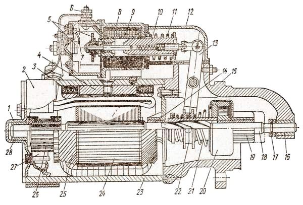 электрический стартер СТ-130-А1
